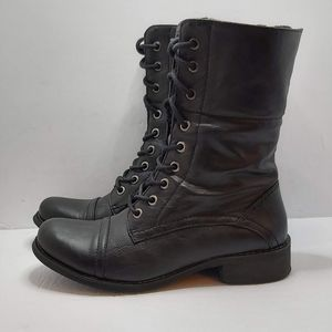 🥳BUY 2 SAVE 30%🥳 SOFTMOC Black Moto Boots